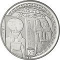 """Франция 10 евро 2012. Большой храм """"Абу-Симбела""""- Всемирное наследие ЮНЕСКО"""