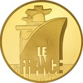 "Трансатлантический лайнер ""Франция""-Великие корабли Франции"