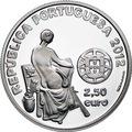 Португалия 2,5 евро 2012.Хосэ Малоха - Европейские художники.Арт.60
