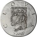 Франция 10 евро 2011. 1500 лет французской истории-Король Хлодвиг I