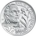 "Австрия 20 евро 2011. ""Европейские исследователи""-""Николаус Жакен"""