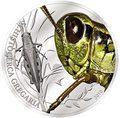 Палау 2 доллара 2010.Пустынная саранча - Мир насекомых.Арт.000140041250/60