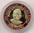 Олдерни 1 фунт 2007 Марк Янг Губернаторы Гонконга Биметалл (Alderney 1 pound 2007 М. Aitchison Young Governors of Hong Kong BM).Арт.000029316609/55D