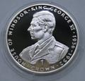 Гибралтар 1 крона 1993. King George VI.