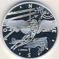 Франция 10 франков 2000. Икар в полете.