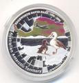 Австралийские Антарктические территории: Альбатрос. Австралия 1 доллар 2006.