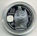 """Испания 10 евро 2008. Альфонс Х .""""Мудрый"""""""