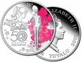 Тувалу 1 доллар 2009. Кукла Барби