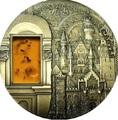 Палау 10 долларов 2011.Замок Нойшванштайн серия Искусство минералов.Арт.60