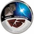 Фиджи 10 долларов 2012.Метеорит – Бренхам (BRENHAM) серия Космические шаровые молнии.Арт.000376941599