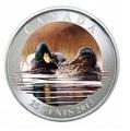 Канада 25 центов 2013. Утка-Кряква