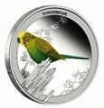Австралия 50 центов 2013. «Волнистый попугайчик» – серия «Птицы Австралии».Арт.000172742833