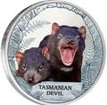 Тувалу 1 доллар 2013 Тасманийский дьявол - Исчезающие виды.Арт.000307643071/60