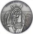 Конго 1000 франков 2012.Носорог.Арт.000385342421/60