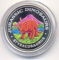Доисторическое животное- Стиракозавр. Арт: 250040332