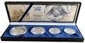Южная Африка 85 центов 2001 Африканский Буйвол серия Дикая природа, Набор 4 монеты (South Africa 85c 2001 Wildlife Series Limited Edition Set Of African Buffalo).Арт.000919341613/60