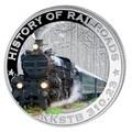 Либерия 5 долларов 2011. История железных дорог. Австрия. «Императорский поезд».
