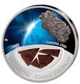 Фиджи 10 долларов 2012.Метеорит – Эйби (ABEE) серия Метеориты и Кометы.Арт.000297943170/60