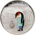 Острова Кука 5 долларов 2013.Пингвин (призма).Арт.000184842605/60