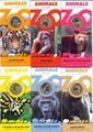 """Набор монет-""""Животные зоопарка""""."""