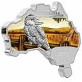 Материк. Кукабара. Австралия 1 доллар 2012.