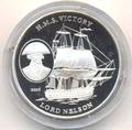 Корабль «Виктори». Лорд Нельсон. Северная Корея 5 вон 2003. Арт: 000180039611