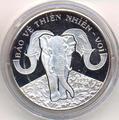 Слоны. Вьетнам 100 донгов 1993.