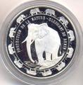 Слон. Бенин 6000 франков 1993.