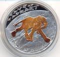 Слон. Ниуэ 1 доллар 2011.