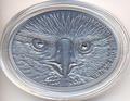 Белоголовый орлан. Фиджи 10долларов 2013.