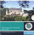 """Замок """"Vianden"""". Люксембург 5 евро 2009."""