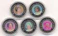 """Набор монет: """"К 80-му дню рождения Елизаветы II"""". Остров Найтингейл 5х1 крона 2005."""