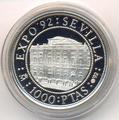 Севилья. Испания 1000 песет 1992.