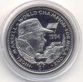 Формула-1. Мэнселл Найджел. Либерия 1 доллар 1994.