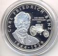 Карл Бенц. Либерия 10 долларов 2005.