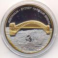 Сиднейский мост. Острова Кука 10 долларов 2007.