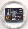 Франция 10 евро 2010. Пабло Пикассо.