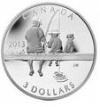 Канада 3 доллара 2013.Рыбалка.Арт.000118148247/60