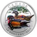"Канада 10 долларов 2013. Серия ""Утки Канады"" - ""Каролинская утка"".Арт.000224444169"