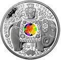 Канада 15 долларов 2013. Слон.