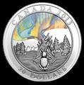 Канада 20 долларов 2013. Северное сияние.