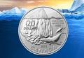 Канада 20 долларов 2013. Кит