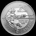 Канада 20 долларов 2013. Хоккеист