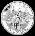 Канада 10 долларов 2013. Северный Олень.Арт.000123644165