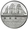 "Франция 10 евро 2013. Броненосец ""Глуар"""
