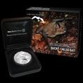 """Новая Зеландия 5 долларов 2013. """"Короткохвостая летучая мышь"""""""