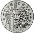 Франция 10 евро 2011. Европа 2011