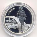 Франция 1 1/2 евро 2003. Бег