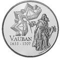 Франция 1 1/2 евро 2007. Себастьен Ле Претр де Вобан