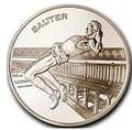 Франция 1 1/2 евро 2003. Прыжки в высоту.